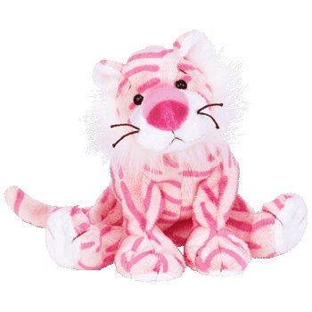0615c03d3b2 Image Unavailable. Image not available for. Color  TY Beanie Babies MYSTIQUE  the Tiger Pink Cat Circus Beanie