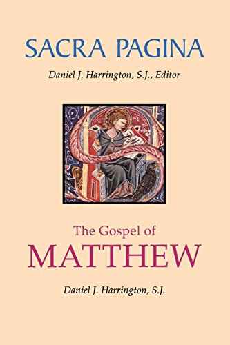 Sacra Pagina: The Gospel of Matthew