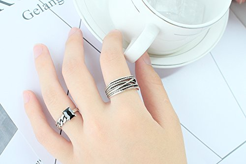 Agate Finger Ring - 8