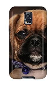 Flexible Tpu Back Case Cover For Galaxy S5 - Dog