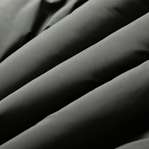 Inverno Inverno Inverno con Militare Cappuccio Lunga Cappotto Cappotto Cappotto Cappotto a Moda Velluto MEIBax XL Verde Cappotti Uomo Militare Uomo Tumblr Autunno più M XXL Nero Manica Verde Felpe in Uomo Giacche L YfvYRqw7X