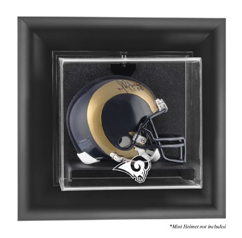 Mounted Memories St. Louis Rams Wall Mounted Mini Helmet Display Case - St.Louis Rams One Size