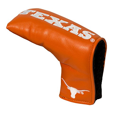 Team Golf NCAA Texas Longhorns Golf Club Vintage Blade Putter Headcover, Form Fitting Design, Fits Scotty Cameron, Taylormade, Odyssey, Titleist, Ping, Callaway