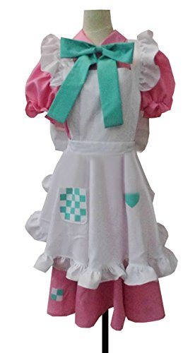 Dreamcosplay Anime Hetalia: Axis Powers UK Rosa Pink Maid Uniform Cosplay