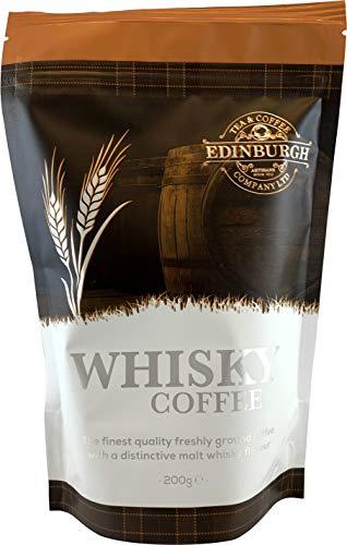 Edinburgh Tea & Coffee Company, Whisky Flavored Ground Coffee, 8 Ounce Bag