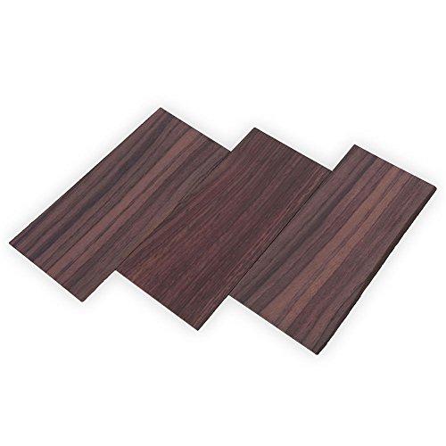 Chapa de Madera Placa de Chapa de la Cabeza de la Guitarra 3 Piezas Placa de Bricolaje Pieza de Repuesto para luthiers