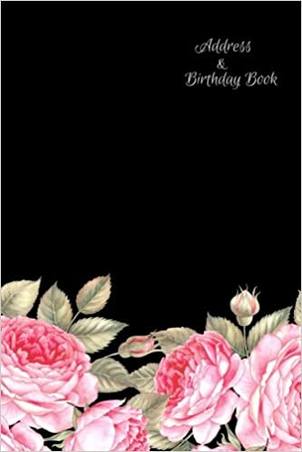 Address Birthday Book: Birthdays & Address Book for Contacts, Addresses, Phone Numbers, Email, Alphabetical Organizer Journal, Diary, Notebook, For ... (Contact Address Log Books) (Volume 5)