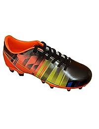 Vizari Kids' Venza FG Sneaker, Black/Orange