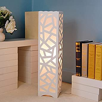 Creative Floor Lamp Minimalist Modern Bedroom Living Room Night Light Hollow Out Carved Shade 06