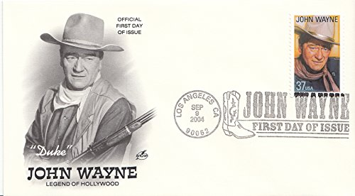 John Wayne ArtCraft First Day Cover Cachet FDC 3876