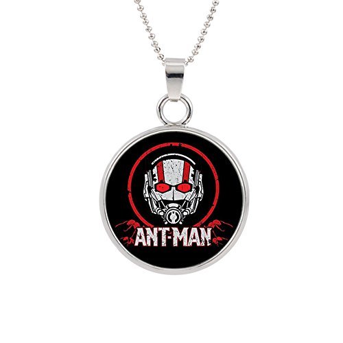 Athena Brands Antman Fashion Novelty Pendant Necklace Movie Comic Series with Gift Box