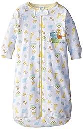 Spasilk Unisex-Baby Newborn Unisex-Baby Cotton Sleep Bag, Yellow Ark, One Size