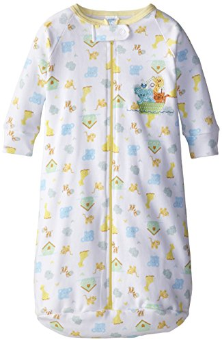 Spasilk Unisex-Baby Newborn Unisex-Baby Cotton Sleep Bag, Yellow Ark, One Size