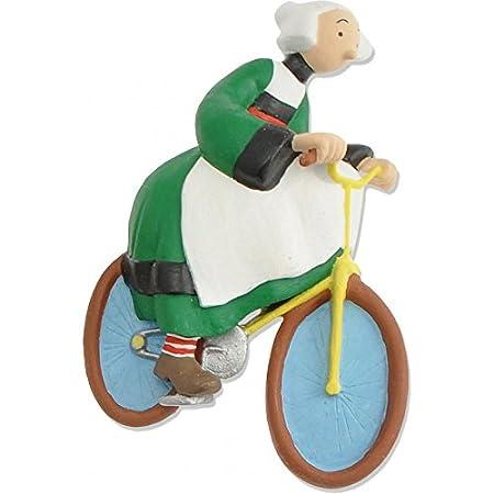 Plastoy – 70171 – Figur – Magnet, Motiv Bécassine und Fahrrad