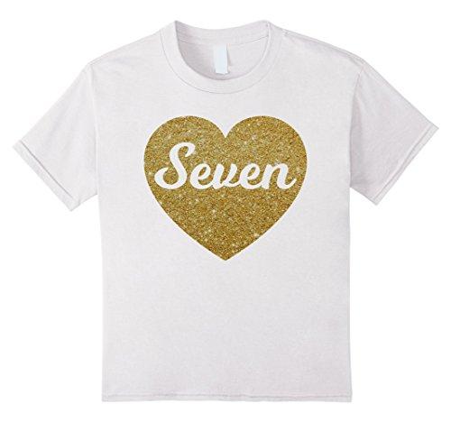 Desertcart Saudi Seventh Birthday Gift Kids T Shirts Co