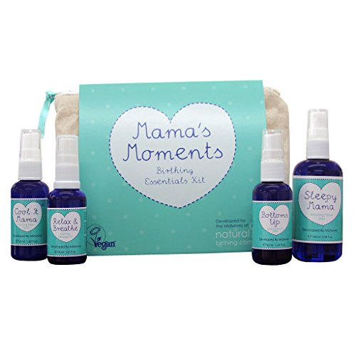 Natural Birthing Company Mama's Moments Birthing Essentials Kit, 1 Pack (1 x 392 g)
