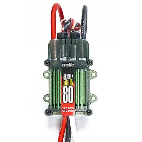 Castle Creations PHX Edge 80 HV - 80 Amp Electronic Speed Controller ()
