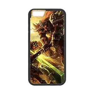 iphone6 plus 5.5 inch Black phone case League of Legends Darius LOL7068137