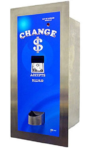 American Changer - AC8005 Platinum Stainless Steel High Security Bill Changer