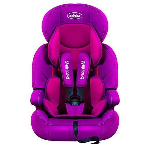 $280.00 Target Infant Car Seats Child Safety seat car Baby Baby car Simple 9 months-12 Years Old Universal Folding Safety seat,Purple 2019