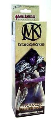 Mage Knight Dungeons Pyramid Booster Pack 4 Figures 1 Chest by Mage Knight