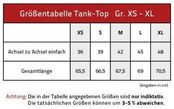 XS-2XL T12891 schwarz Eule Owl Fan-O-Menal Textilien Tank-Top mit hochwertiger Glitzer- Stein- Applikation Gr