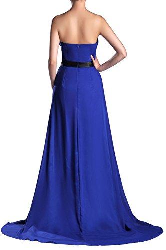 Cornflower A Chiffon Women's Strapless Line Blue Adorona Dress Oa4qwBW