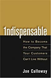 Indispensable: How to Become the Company That Your Customers Can't Live Without by Joe Calloway (15-Apr-2005) Hardcover