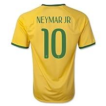 Neymar Jr Brazil Jersey #10 Football Soccer Jersey Home