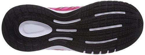 adidas Duramo 6 - Zapatillas para bebés Ftwr White/Semi Solar Pink/Vivid Berry S14