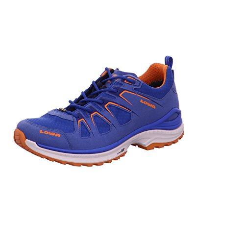 Lowa - Zapatillas de senderismo de tela para hombre Royal/Orange