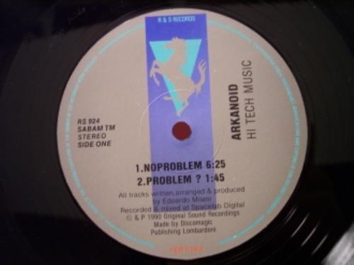 Arkanoid No Problem vinyl record