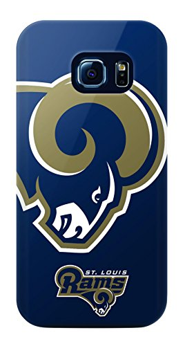 Mizco Sports Case Samsung Galaxy S6 Edge Licensed TPU NFL St Louis Rams Case by Mizco Sports Case