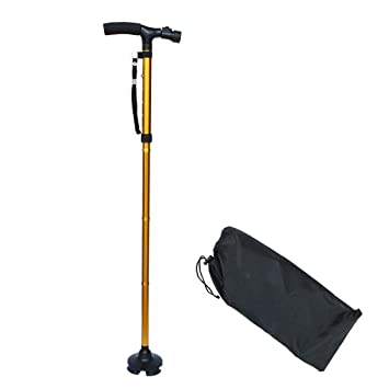 Muletas Para Adultos Muleta Plegable Para El Anciano Caminando ...