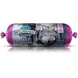 Blue Wilderness Adult Grain-Free Wild Rolls Beef Wet Dog Food 2.25-Lb