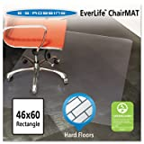 46x60 Rectangle Chair Mat, Multi-Task Series for Hard Floors, Heavier Use, Sold as 1 Each