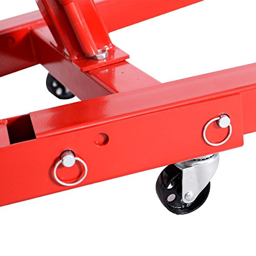 Goplus 2 TON 4000 lb Engine Hoist Stand Cherry Picker Ship Crane Folding Lift (Red) by Goplus (Image #5)