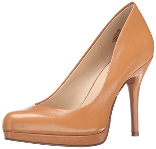 natural leather pumps - 1