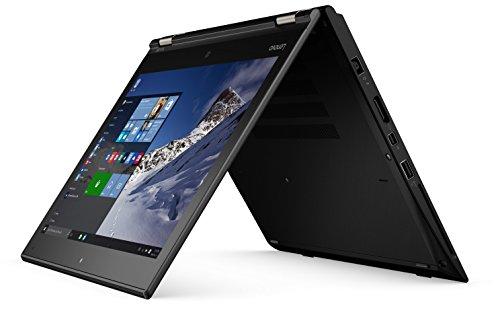 "Lenovo Thinkpad yoga 260 2-in-1 12.5"" Touchscreen laptop - Intel Dual-core i5-6200U, up to 2.8 GHz, 8GB DDR4, 128GB SSD, Win 10 Pro, silver (Renewed)"