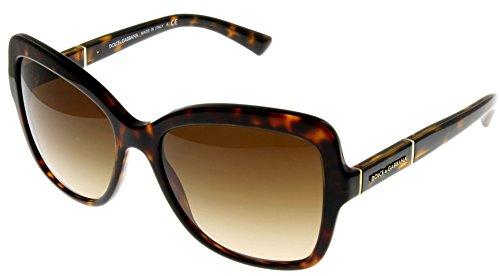 Dolce & Gabbana Sunglasses Women Havana Square DG4244 502/13 by Dolce & Gabbana