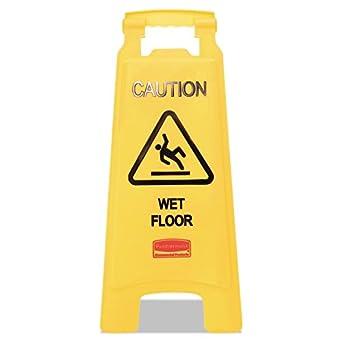 rcp611277yw – cartel de advertencia de suelo mojado en suelo ...