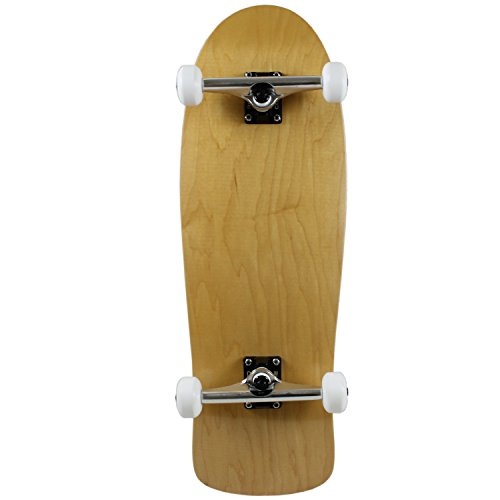 - Moose Old School Complete Skateboard, Natural