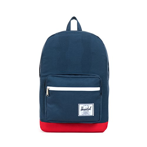 Herschel Supply Co. Pop Quiz, Navy/Red, One Size