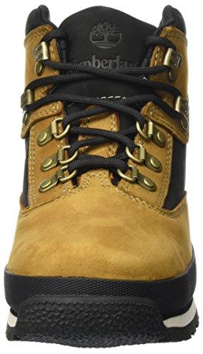 Timberland Jungen Euro Hiker Chukka Boots Braun (Trapper Tan)