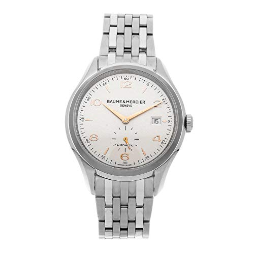 Baume & Mercier Clifton Mechanical (Automatic) Silver Dial Mens Watch M0A10141 (Certified Pre-Owned) ()