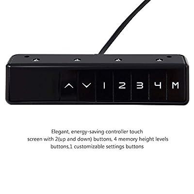 Tangkula Electric Height Adjustable Standing Desk Frame Motor & Memory Control
