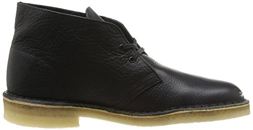 Clarks Originals Desert Boot, Stivali Chukka Uomo Nero (Blk Tumbled Lea)