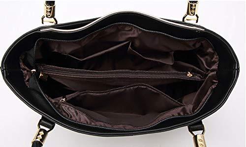 Shoppers de Oro de Mujer mano bolsos clutches hombro y bandolera Bolsos Carteras y DEERWORD zn51WOaq1