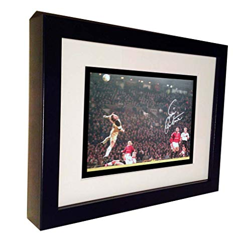 - Kitbags & Lockers 'The CHIP' Signed Eric Cantona Manchester United Autographed Photo Photograph Picture Frame