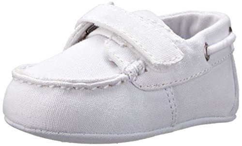 Ralph Lauren Layette Sander EZ Loafer (Infant/Toddler),White,1 M US Infant